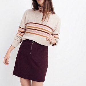NWOT Madewell Fireside Mini Skirt size 4